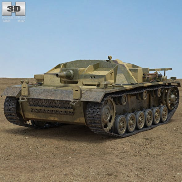 StuG III - 3DOcean Item for Sale