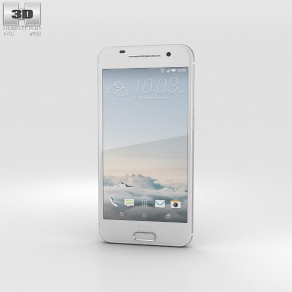 HTC One A9 Opal Silver - 3DOcean Item for Sale