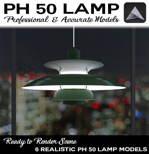PH 50 Lamp - 3DOcean Item for Sale