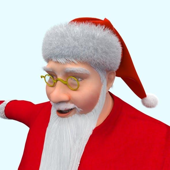 Santa Claus - 3DOcean Item for Sale