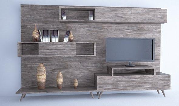 Tv Unit Set - 3DOcean Item for Sale