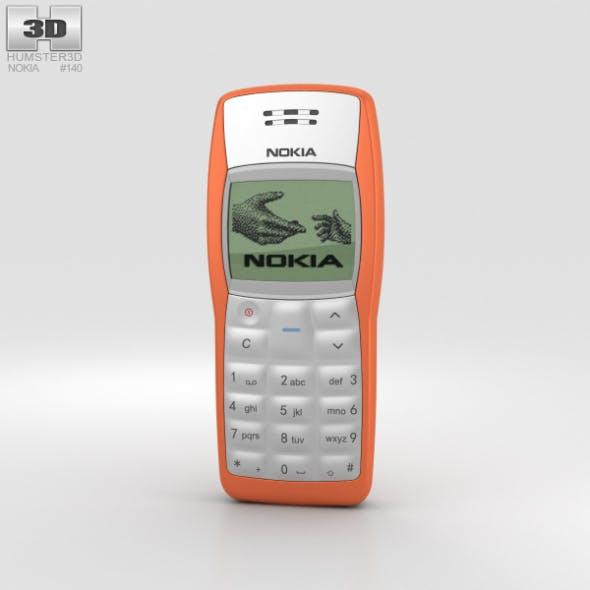 Nokia 1100 Orange - 3DOcean Item for Sale