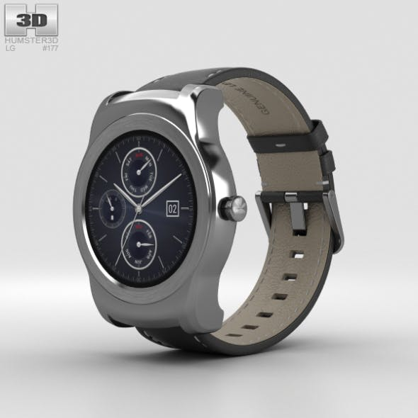 LG Watch Urbane Silver - 3DOcean Item for Sale