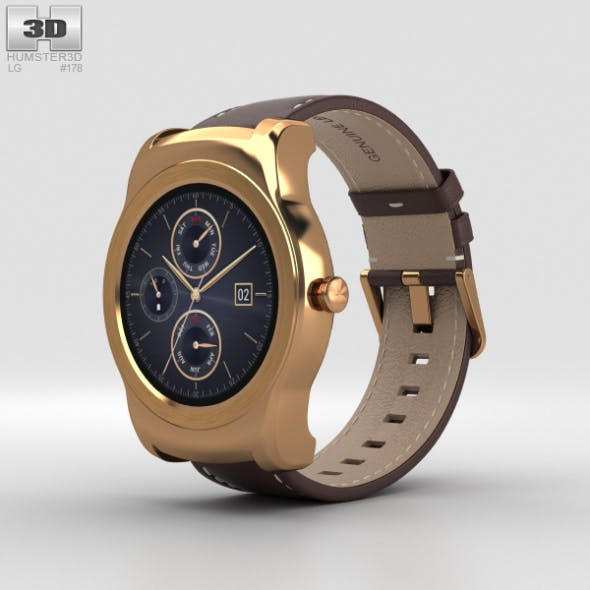 LG Watch Urbane Gold - 3DOcean Item for Sale