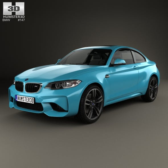 BMW 2 Series M2 (F87) coupe 2015