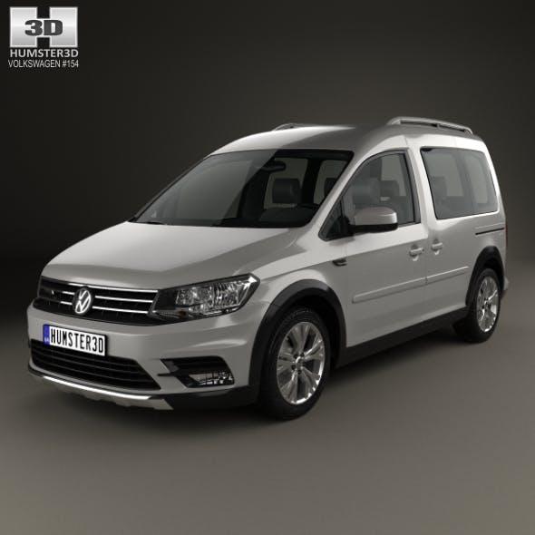 Volkswagen Caddy Alltrack 2016 - 3DOcean Item for Sale