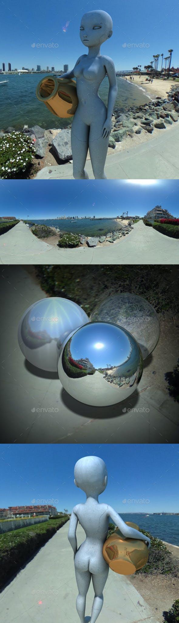 Sunny Bay Area HDRI - 3DOcean Item for Sale
