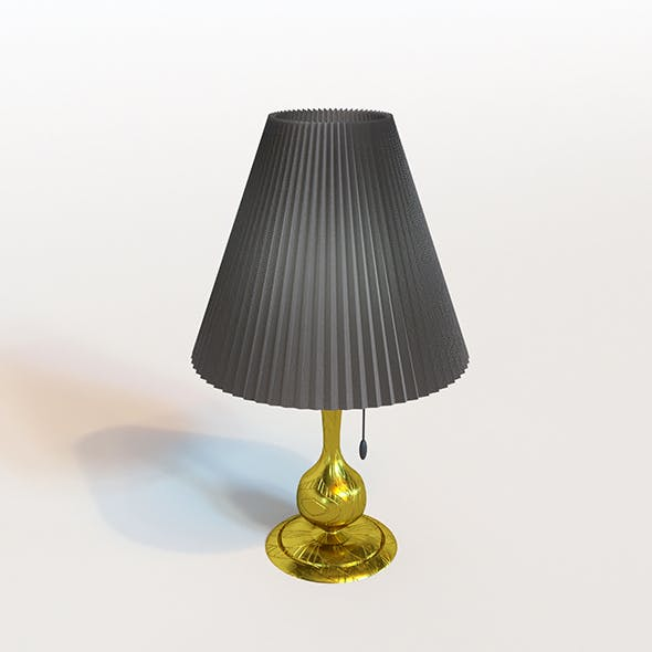 Classic lamp (Bed light) - 3DOcean Item for Sale