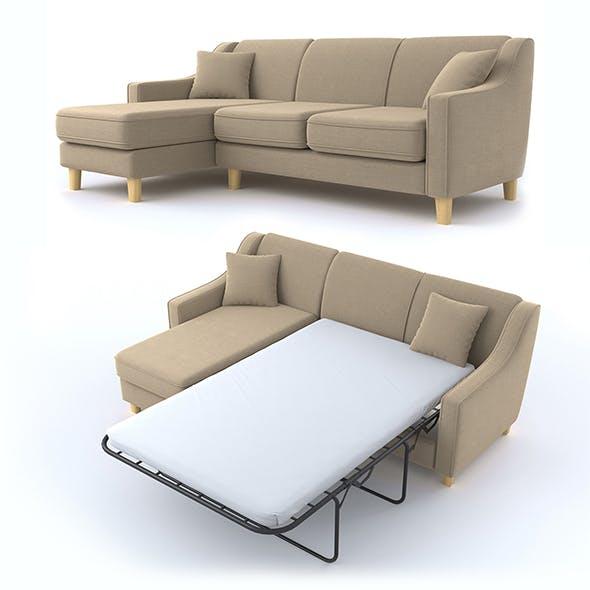 triple corner sofa