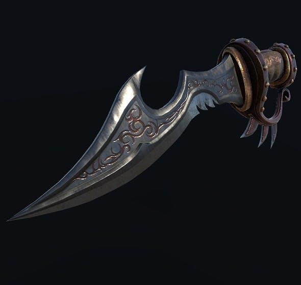 Steampunk Knife - 3DOcean Item for Sale