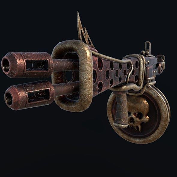 Steampunk Tommy-gun