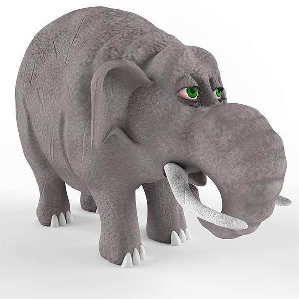 Childrens plastic toy Elephant