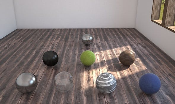 Cinema4d Vray İnterior Setup+10 Realistic Material - 3DOcean Item for Sale