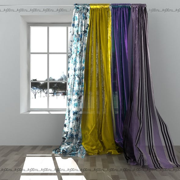 Curtains rope - 3DOcean Item for Sale