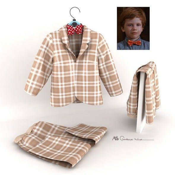 Children's costume boy - 3DOcean Item for Sale
