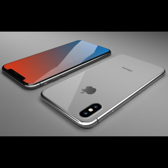 iPhone X Blender 3D