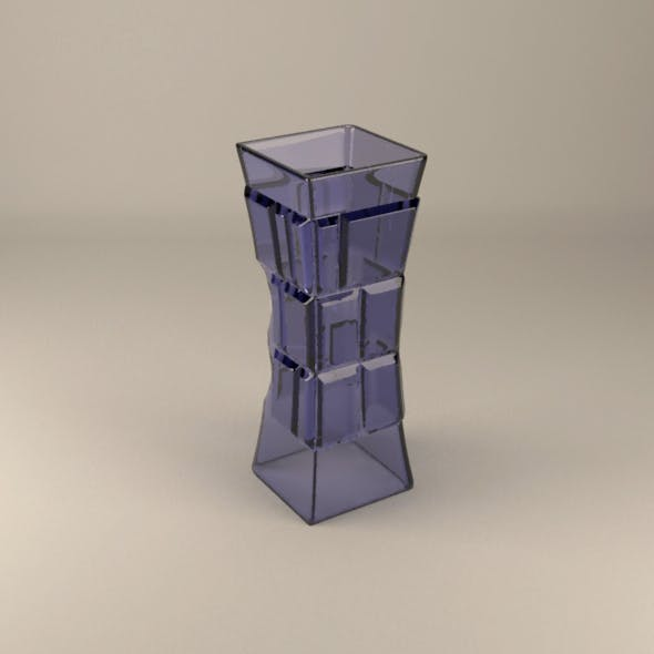 Tower vase - 3DOcean Item for Sale