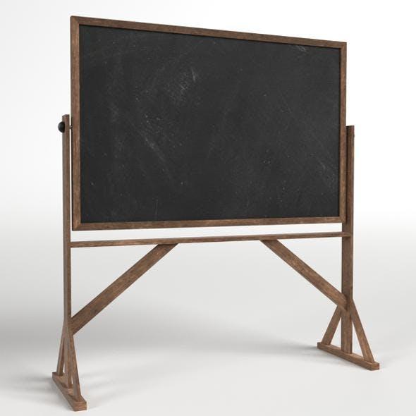 Reversible Freestanding Chalkboard
