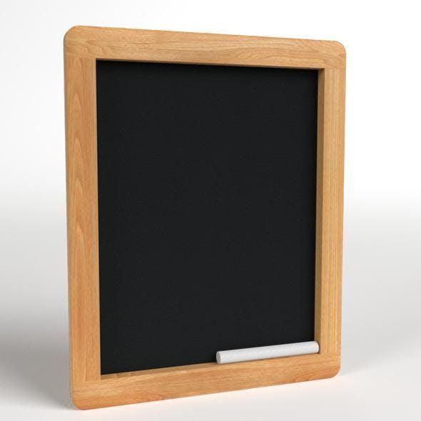 Wood Chalkboard frame - 3DOcean Item for Sale