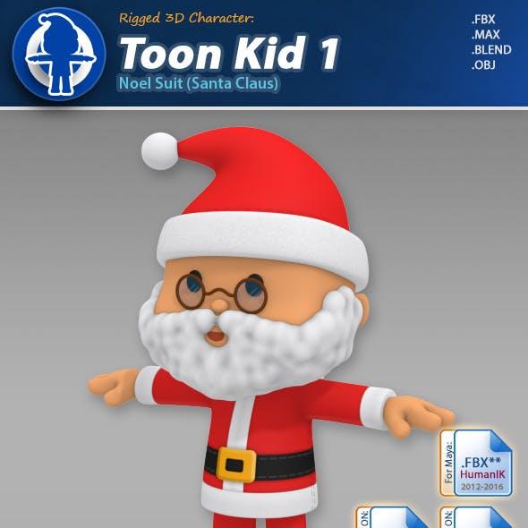 Toon Kid 1 - Noel Suit