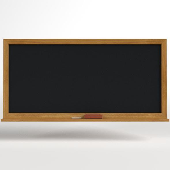 School Classroom Chalkboard