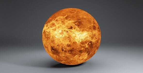 Venus 8k Globe - 3DOcean Item for Sale