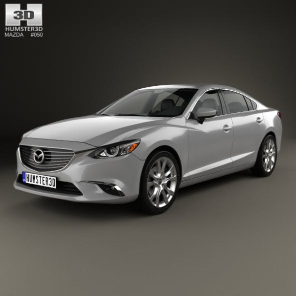 Mazda 6 GJ 2015 - 3DOcean Item for Sale