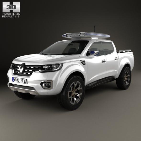 Renault Alaskan Concept 2015 - 3DOcean Item for Sale