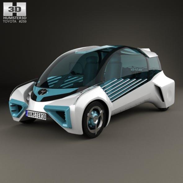 Toyota FCV Plus 2015 - 3DOcean Item for Sale