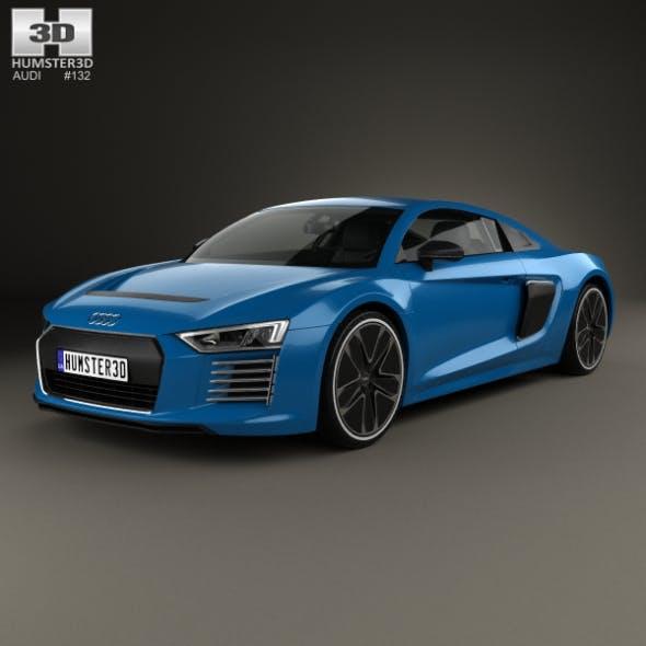 Audi R8 e-tron 2016 - 3DOcean Item for Sale