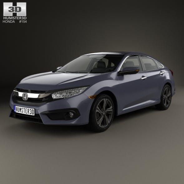 Honda Civic sedan Touring 2016