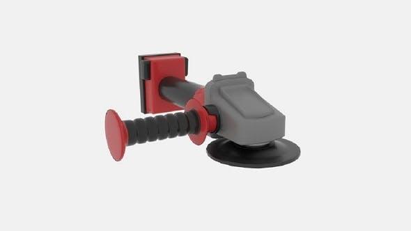 Braking Grinder - 3DOcean Item for Sale