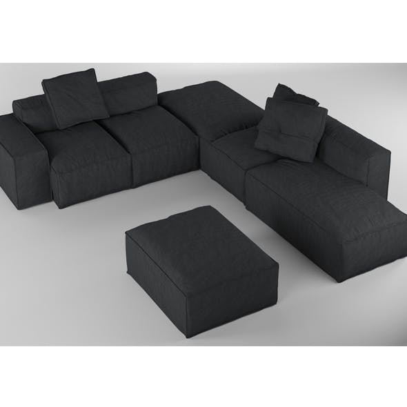 Bonaldo Peanut B 04 Pillows - 3DOcean Item for Sale