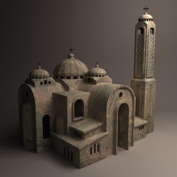 a church - 3DOcean Item for Sale