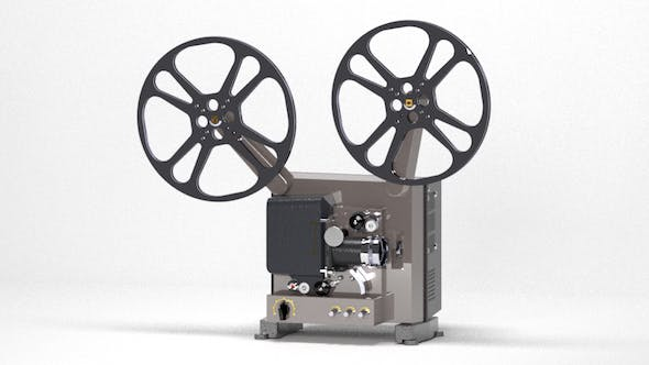 Film Projector - 3DOcean Item for Sale
