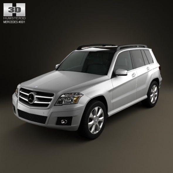 Mercedes-Benz GLK 2010 - 3DOcean Item for Sale