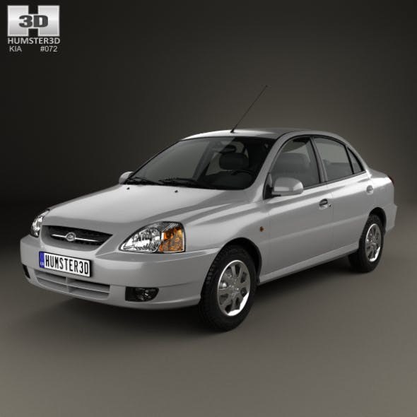 Kia Rio 2002 - 3DOcean Item for Sale
