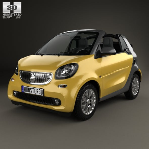 Smart Fortwo Cabrio 2014 - 3DOcean Item for Sale