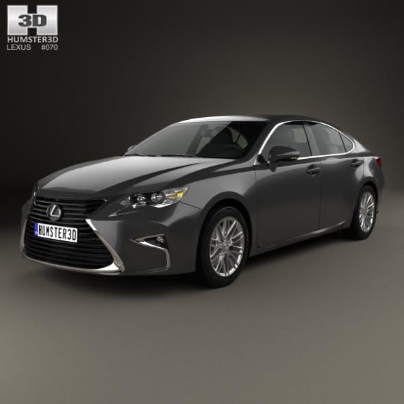 Lexus ES 2015 - 3DOcean Item for Sale