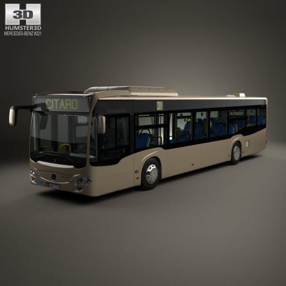 Mercedes-Benz Citaro (O530) Bus with HQ interior 2011 - 3DOcean Item for Sale