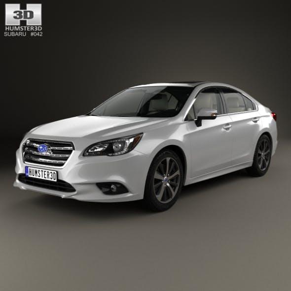 Subaru Legacy with HQ interior 2014