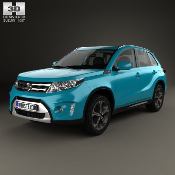 Suzuki Vitara (Escudo) with HQ interior 2015 - 3DOcean Item for Sale
