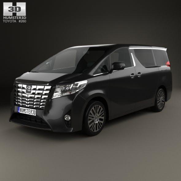 Toyota Alphard (CIS) 2015 - 3DOcean Item for Sale