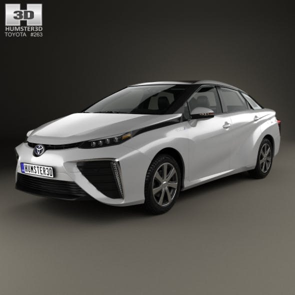 Toyota Mirai with HQ interior 2014 - 3DOcean Item for Sale