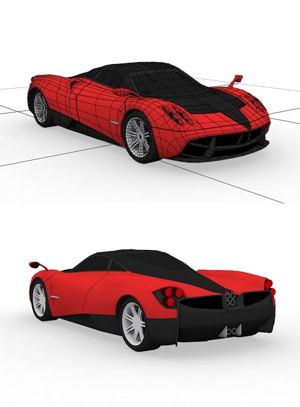Pagani Huayra Model - 3DOcean Item for Sale