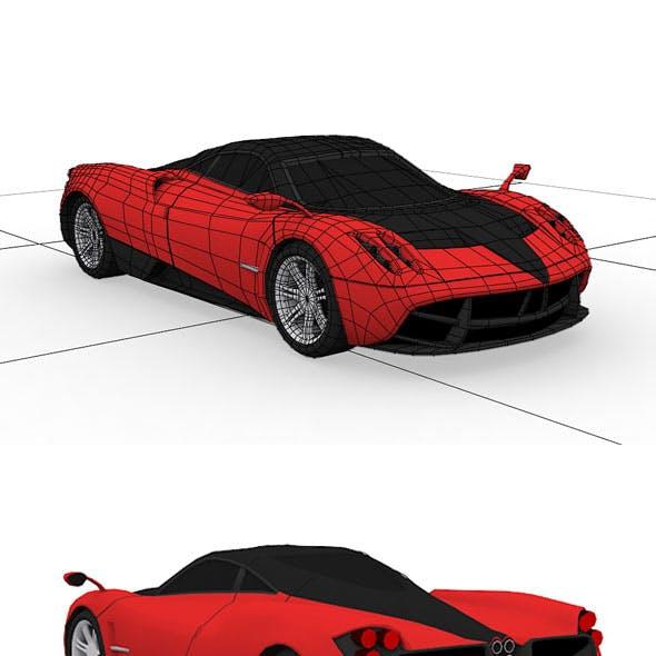 Pagani Huayra Model