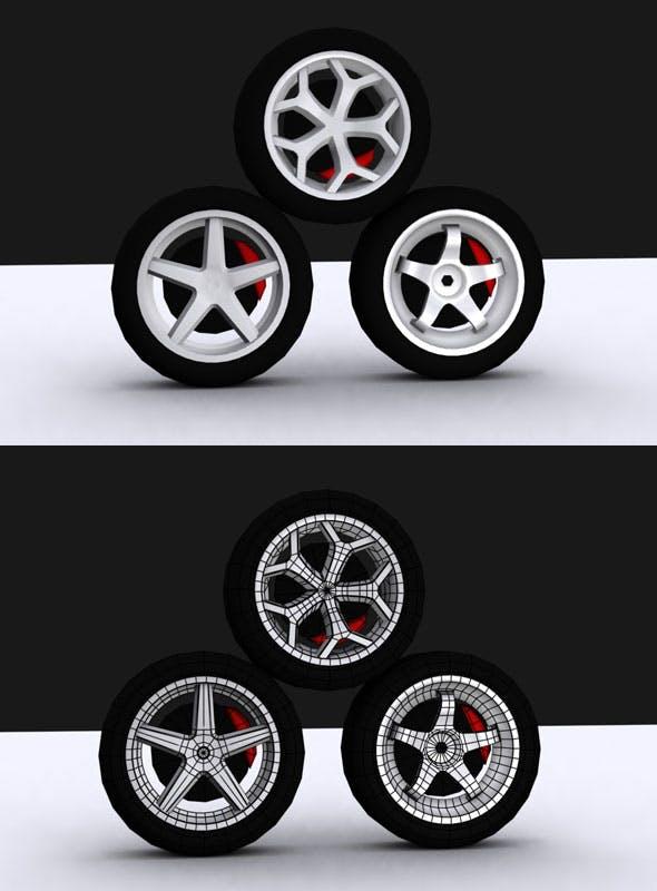 Tire Vol Model - 3DOcean Item for Sale