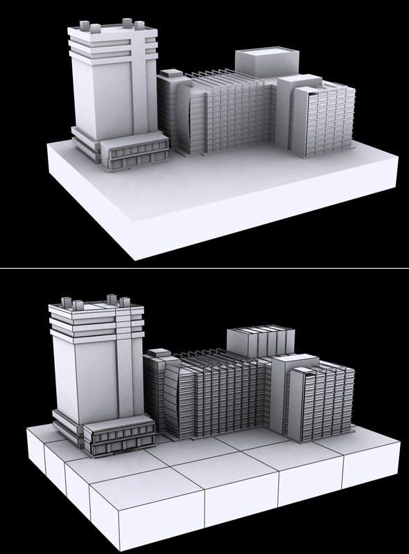 Building Vol 5 - 3DOcean Item for Sale