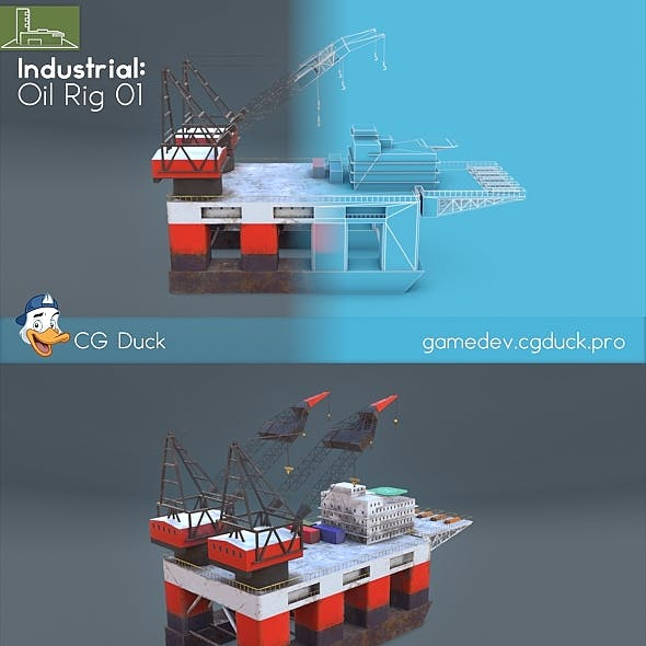Oil Rig 01