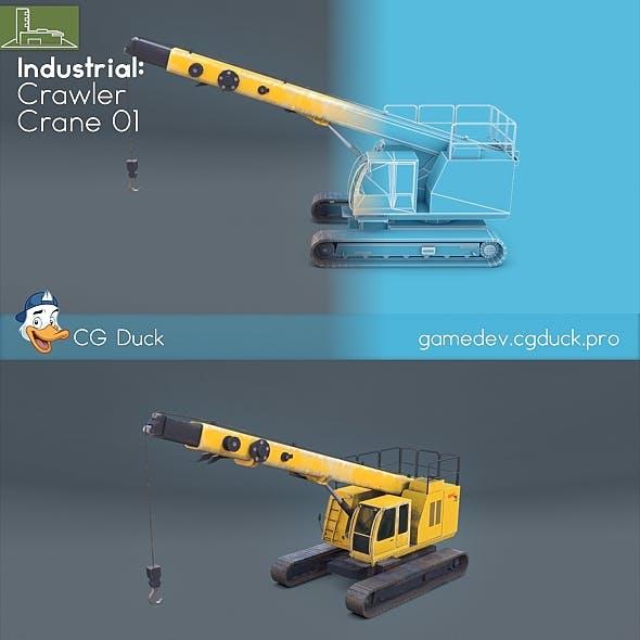 Crawler crane 01